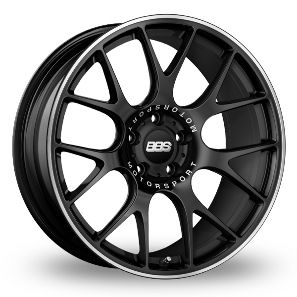 "Picture of 19"" BBS CH-R Satin Black Alloy Wheels"