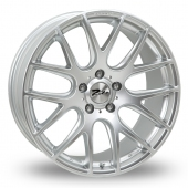 Image for Zito ZL935 Hyper_Silver Alloy Wheels