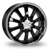 Image for Zito Derosa Black Alloy Wheels
