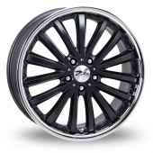 Image for Zito Orlando Black Alloy Wheels