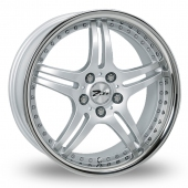 Image for Zito Titan Silver Alloy Wheels