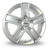 Image for Tekno KV5 Silver Alloy Wheels