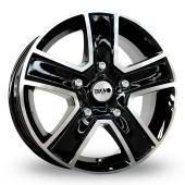 Image for Tekno KV5 Black_Polished Alloy Wheels