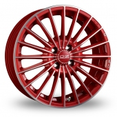 Image for OZ_Racing 35th_Anniversary Red Alloy Wheels