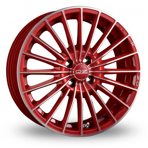 Zoom OZ_Racing 35th_Anniversary Red Alloys