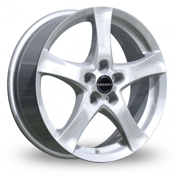Zoom Borbet F Silver Alloys