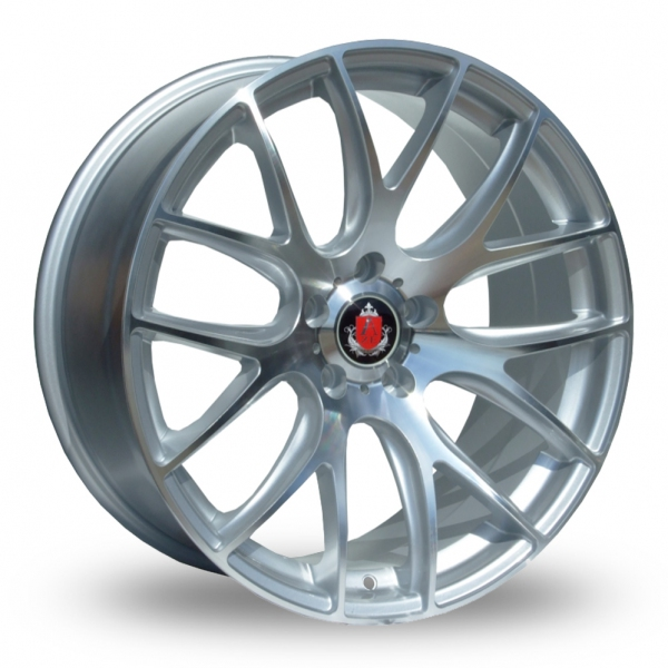 Zoom Axe CS_Lite_5x120_Wider_Rear Silver_Polished Alloys