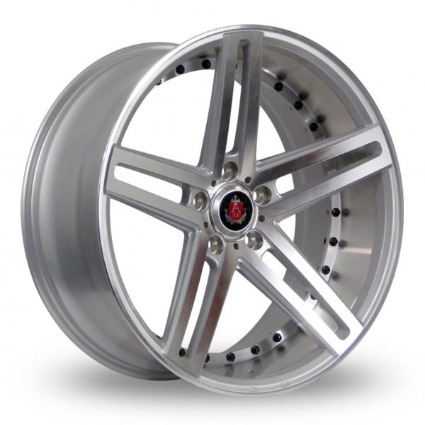 Zoom Axe EX20_5x120_Low_Wider_Rear Silver_Polished Alloys