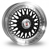 Image for Calibre Vintage Black Alloy Wheels