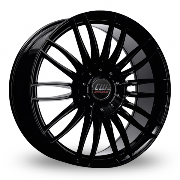 Zoom CW_(by_Borbet) CW3 Black Alloys