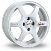 Image for Speedline Comp_2 White Alloy Wheels