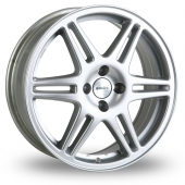 Image for Speedline Chrono Silver Alloy Wheels