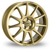 Image for Speedline Turini Gold Alloy Wheels