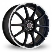 Image for Dare Drift_RZ Matt_Black Alloy Wheels