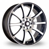 Image for Dare GTS Black_Polished Alloy Wheels