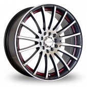Image for Dare GTR Red Alloy Wheels