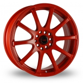 Image for Dare Drift_RS Red Alloy Wheels