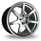 Image for Dare X3 Hyper_Silver Alloy Wheels