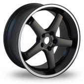 Image for Dare Hiro Black Alloy Wheels