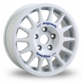 Image for Speedline 2118 White Alloy Wheels