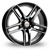 Image for Speedline Imperatore Black_Polished Alloy Wheels