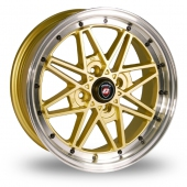 Image for Calibre Eclipse Gold Alloy Wheels