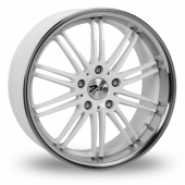 Image for Zito Belair White Alloy Wheels
