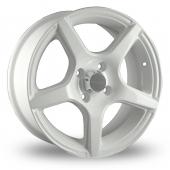 Image for Dare E950 White Alloy Wheels