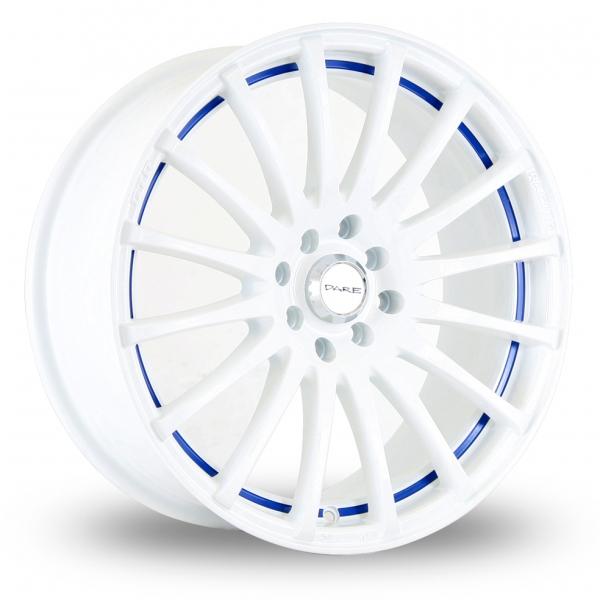 Zoom Dare GTR White_Blue Alloys