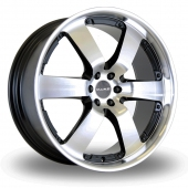 Image for Dare Outlaw Black_Polished Alloy Wheels