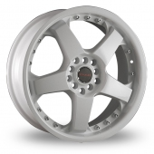 Image for Dare LS2 White Alloy Wheels