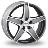 Image for Ronal R48 Anthracite_Polished Alloy Wheels
