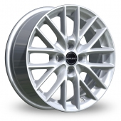 Image for Borbet BS4 Silver Alloy Wheels