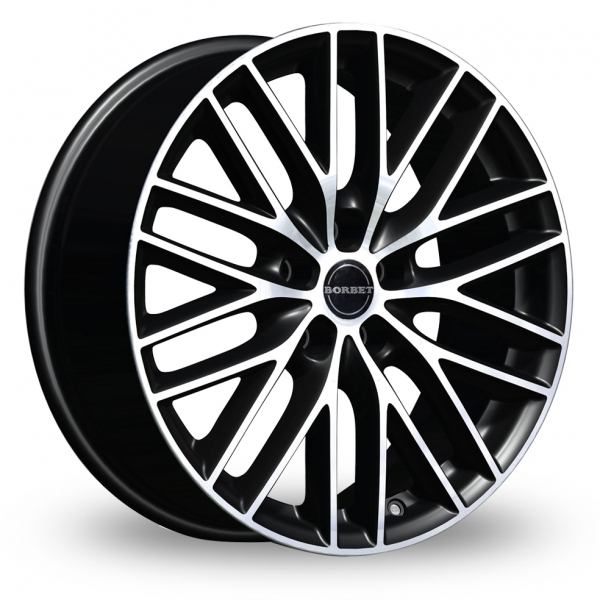Zoom Borbet BS5 Black_Polished Alloys