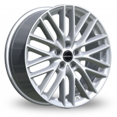 Image for Borbet BS5 Silver Alloy Wheels