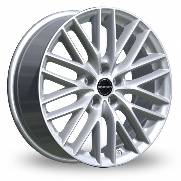 Zoom Borbet BS5 Silver Alloys