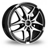 Image for Borbet XB Black_Polished Alloy Wheels