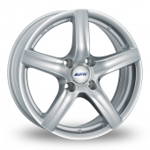 Image for Alutec Grip Silver Alloy Wheels