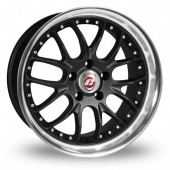 Image for Calibre Excaliber_5x112_Wider_Rear Black Alloy Wheels