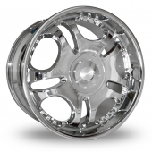 Image for Dare LD1 Chrome Alloy Wheels