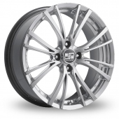 Image for MSW_(by_OZ) 20-4_Stud Silver_Polished Alloy Wheels