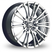 Image for MSW_(by_OZ) 20-5_Stud Silver_Polished Alloy Wheels