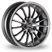 Image for MSW_(by_OZ) 21 Grey Alloy Wheels