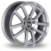 Image for MSW_(by_OZ) 22 Silver Alloy Wheels