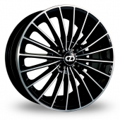 Image for OZ_Racing 35th_Anniversary Black_Polished Alloy Wheels