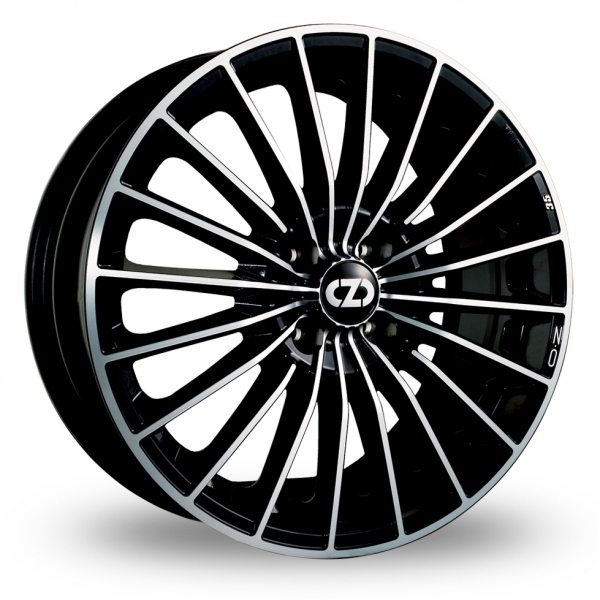 Zoom OZ_Racing 35th_Anniversary Black_Polished Alloys