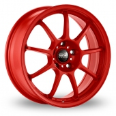 Image for OZ_Racing Alleggerita_HLT Red Alloy Wheels