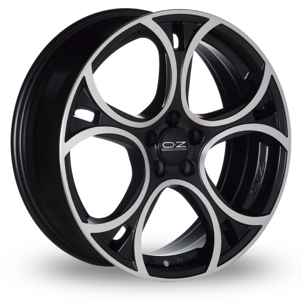 Zoom OZ_Racing Wave Black_Polished Alloys