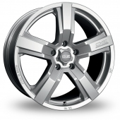 Image for OZ_Racing Versilia Silver Alloy Wheels