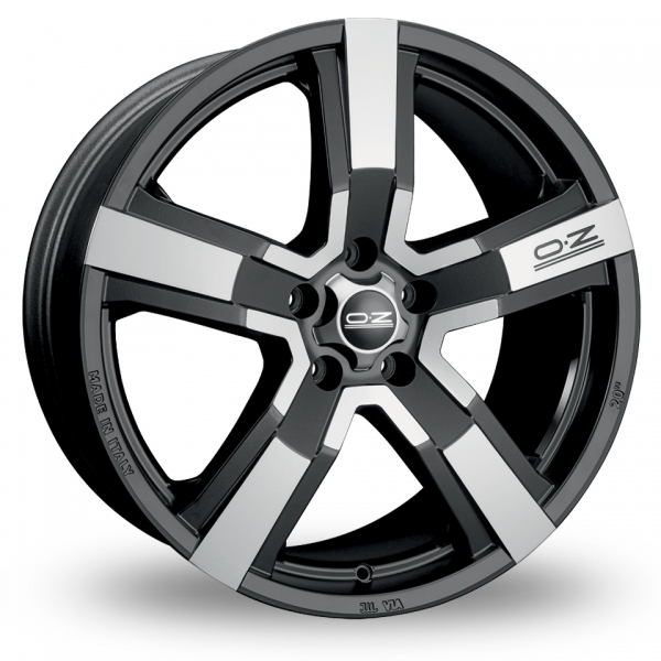 Zoom OZ_Racing Versilia Black_Polished Alloys